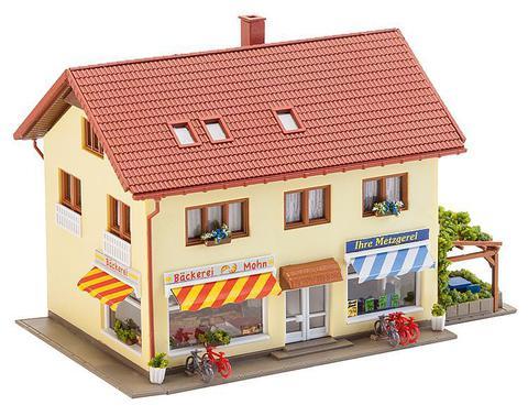 Faller 232336 Дом с мясной и хлебной лавкой N