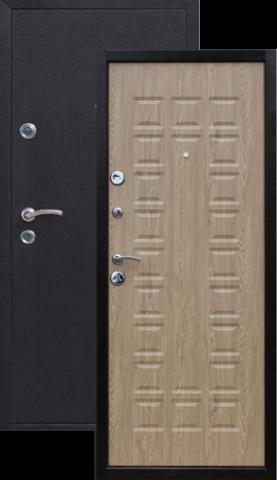 Дверь входная Йошкар Йошкар, 2 замка, 1,5 мм  металл, (медь антик+ель карпатская)