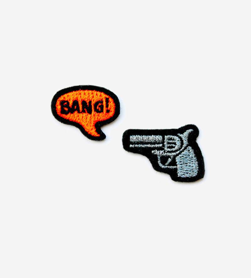 Набор патчей-заплаток Pistolet & Bang