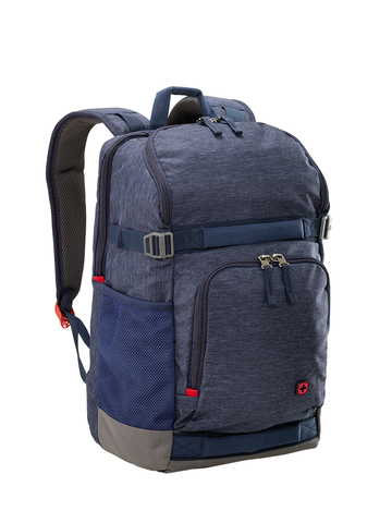 Картинка рюкзак городской Wenger  синий - 6