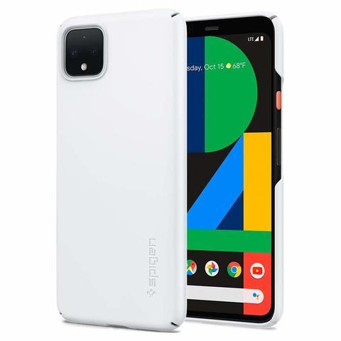 Чехол Spigen Thin Fit для Google Pixel 4 Case (2019) - White