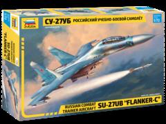 Российский учебно-боевой самолет «Су-27УБ»