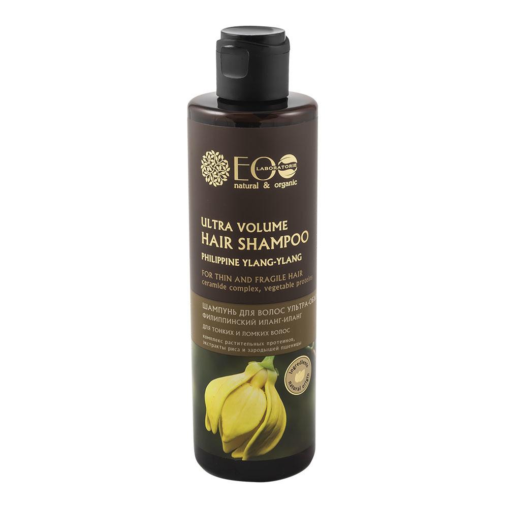 """Шампунь """"Ультра-объем"""" для тонких и ломких волос"""