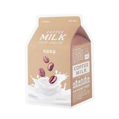 Тканевая маска с молочными протеинами и экстрактом кофе 21 гр