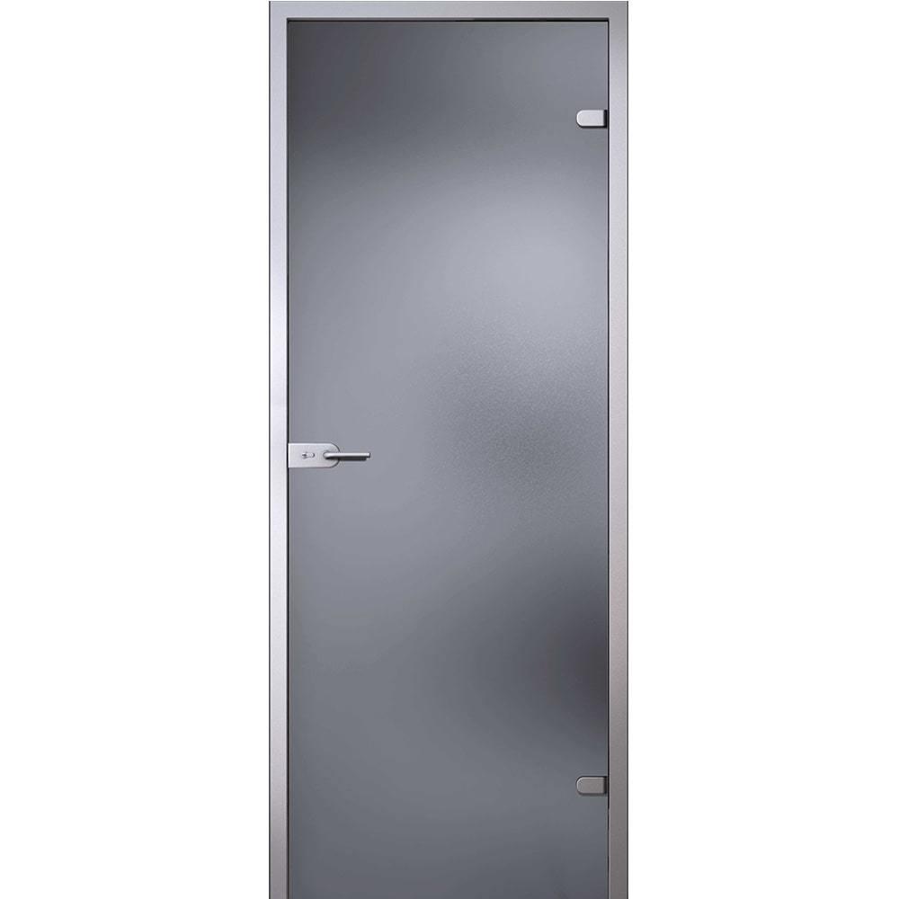 Для кухни Межкомнатная стеклянная дверь АКМА Лайт стекло серое матовое lait-seroe-dvertsov-min.jpg