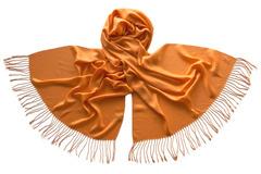 Палантин оранжевый 1834