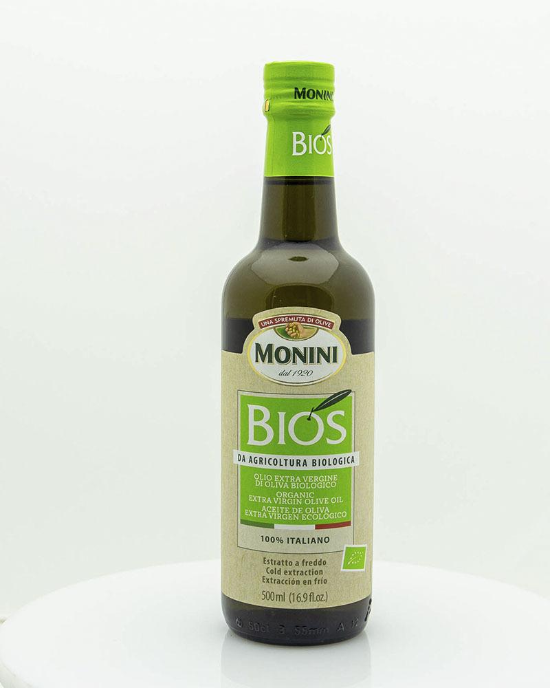 Масло Оливковое Monini Экстра Вирджин Ойл Биос Премиум 0,5 л.