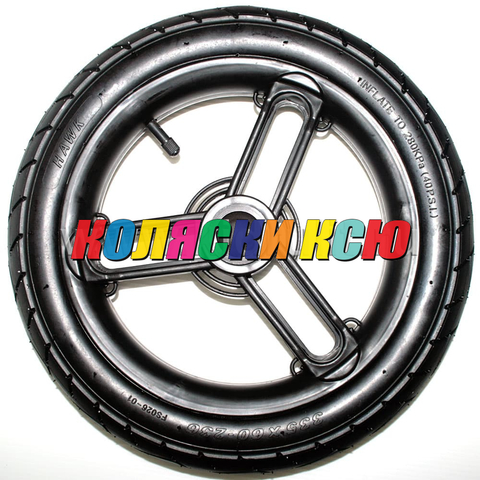 Колесо для детской коляски №005090 надув 13 дюймов (335х60-236)