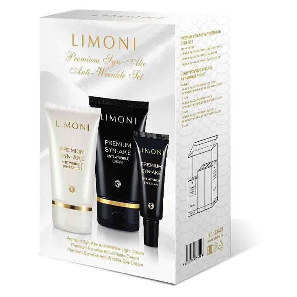 Premium Syn-Ake Anti-Wrinkle Care Set (крем 50мл+крем д/глаз 25мл+крем легкий 50мл)