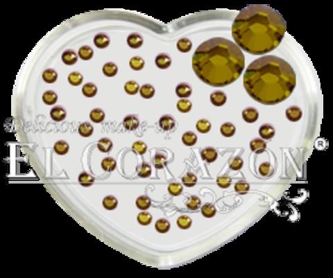 ЭК Стразы стеклянные 100шт/115  SS6-светло-бронзовый