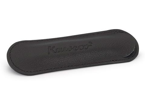Чехол ECO для 1 ручки Sport кожаный чёрный