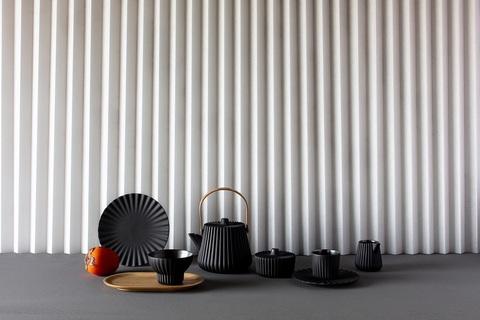 Фарфоровая чашка для чая, черная, артикул 653604, серия Pekoe