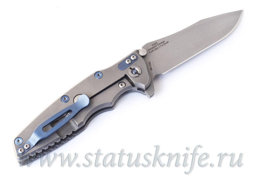 Нож Zero Tolerance 0392 Rick Hinderer Limited Edition - фотография