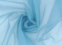 Корсетная сетка, СРЕДНЕЙ ЖЕСТКОСТИ, арктический лёд (серо-голубой), (Арт: KS-1454.S)