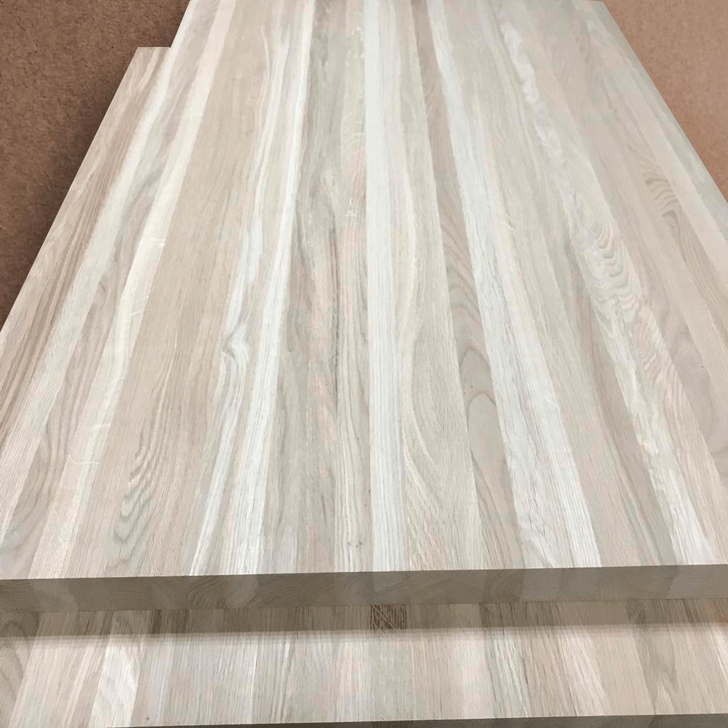 Мебельный щит из дуба (цельноламельный, Кавказский)