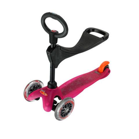 mini micro розовый 3 в 1