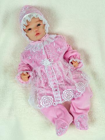 Велюровый набор Мари розовый