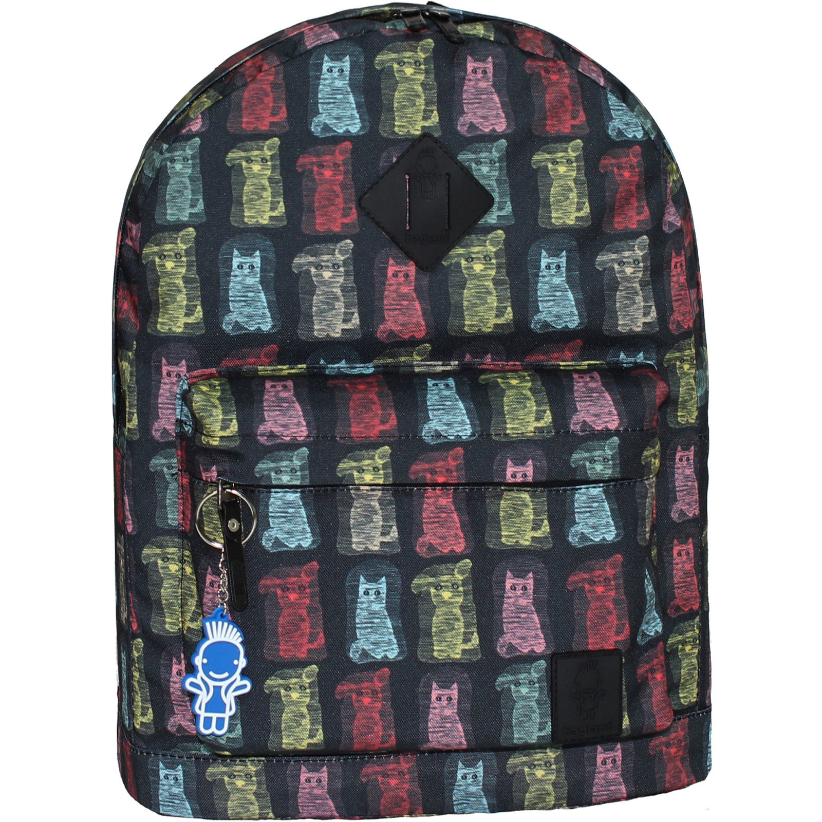 Городские рюкзаки Рюкзак Bagland Молодежный (дизайн) 17 л. сублимация 189 (00533664) IMG_7082_189.JPG