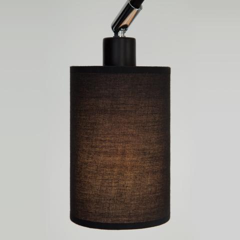 Люстра в стиле лофт с поворотными рожками 70072/7 черный