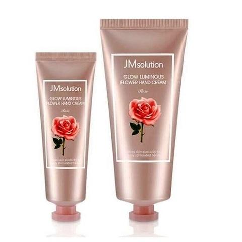 JM Solution Glow Luminous Flower Hand Cream набор восстанавливающих кремов для рук с экстрактом розы