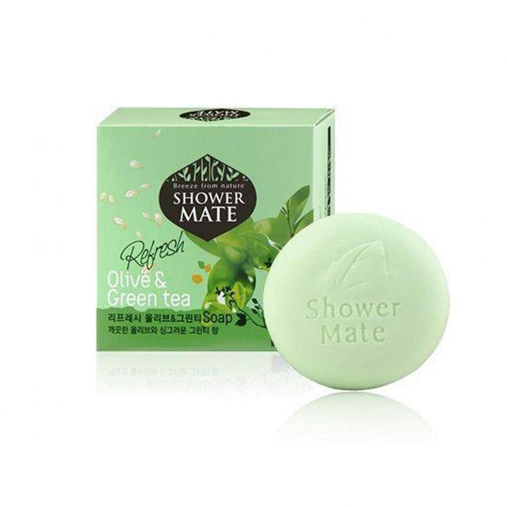 Мыло Shower Mate Оливки и Зеленый чай