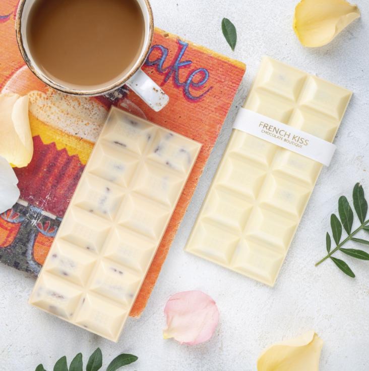 Белый шоколад с орехом пекан, ФРЕНЧКИСС, 120г