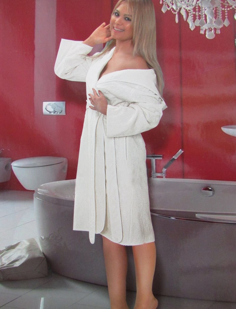 Махровые халаты PHUL LONG ПУЛ ЛОНГ длинный женский  махровый халат Maison Dor Турция Пул_Лонг.jpg