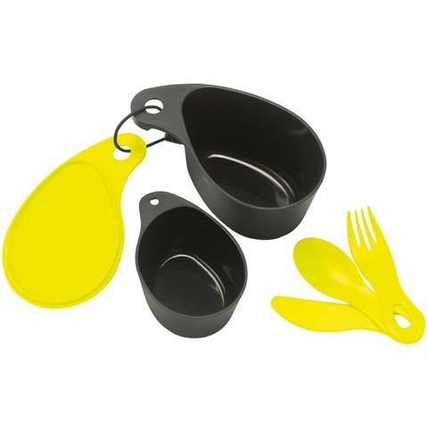 Картинка набор посуды Primus Field Cup Set желтый - 1