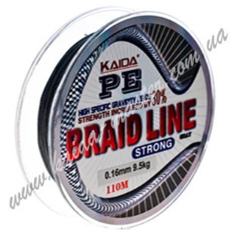 Плетенка BRAID LINE KAIDA strong YX-112-10