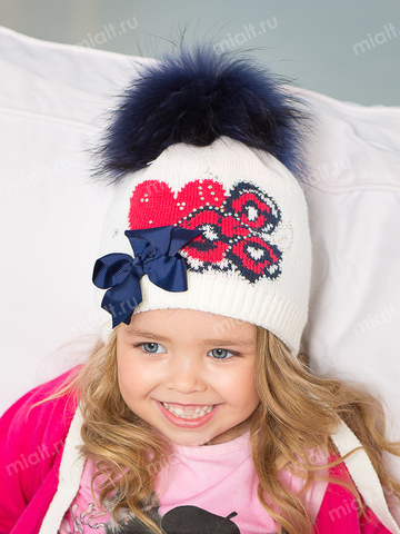Зимняя шапка для девочки Mialt Сима