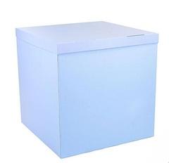 Коробка для шаров (голубая) 60*60*60 см.