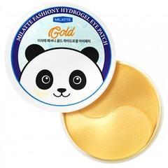 Гидрогелевые патчи для кожи вокруг глаз Milatte с золотом 90 гр