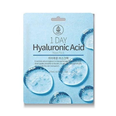 MED B 1 DAY Тканевая маска с Гиалуроновой Кислотой Hyaluronic Acid Mask Pack, 27ml