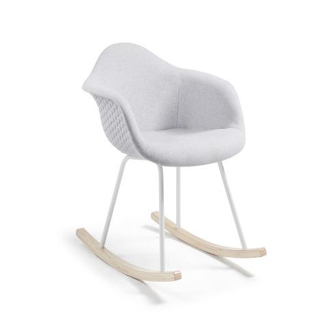 Кресло-качалка Kenna светло-серое