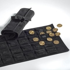 Рулон для монет на 24 шт. диаметром до 48 mm или QUADRUM капсул