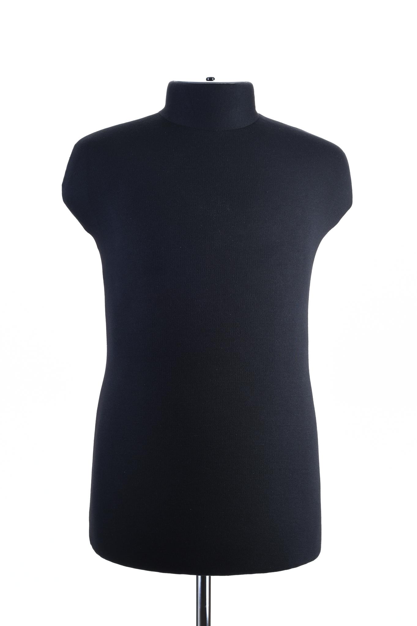 Мягкий манекен мужской 52 размер (черный)