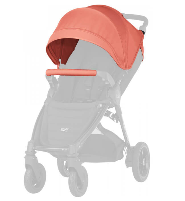 Капор для коляски B-Agile 4 Plus, B-Motion 4 Plus, B-Motion 3 Plus Капор для коляски B-Agile 4 Plus, B-Motion 4 Plus, B-Motion 3 Plus Coral Peach 2000025713.jpg