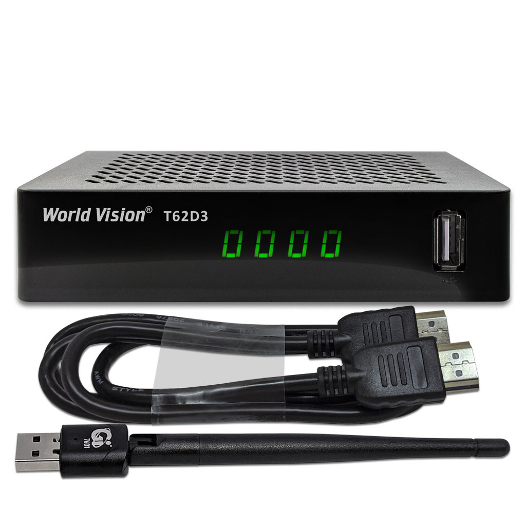 КОМПЛЕКТ WORLD VISION T62D3 + USB WI-FI + HDMI