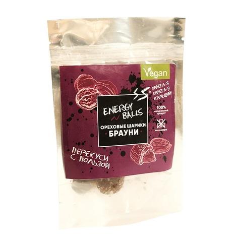Ореховые шарики «Energy Balls» со вкусом Брауни (Ve)