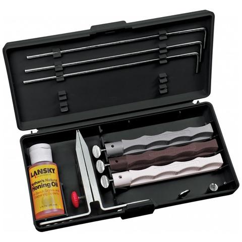 Набор для заточки ножей Lansky Natural Arkansas System