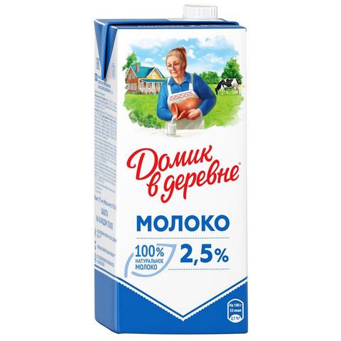 Молоко Домик в Деревне 2,5% 950г