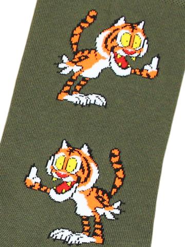 Носки Тигр хаки