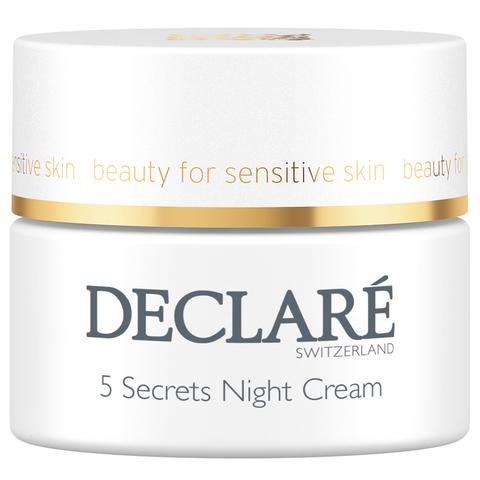 DECLARE   Ночной восстанавливающий крем «5 секретов» / 5 Secrets Night Cream, (50 мл)