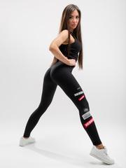 Лосины NEBBIA Labels leggings 504 black
