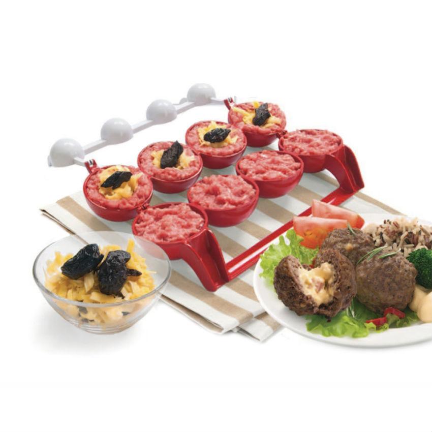 Кухонные принадлежности и аксессуары Приспособления для фаршировки котлет и биточков Mighty Meatballs prisposobleniya-dlya-farshirovki-kotlet-i-bitochkov-mighty-meatballs.jpg