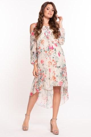 Платье для беременных 08811 розовый
