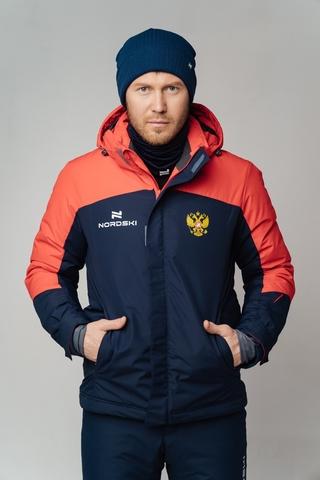 Утепленная куртка Nordski Mount dark blue/red мужская