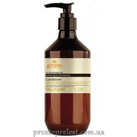 Angel Professional Paris Provence Helichrysum Revitalising Conditioner - Кондиціонер для сухого та пошкодженого волосся з екстрактом безсмертника