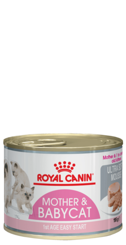 Royal Canin Babycat Instinctive мусс для котят от 1 до 4 месяцев