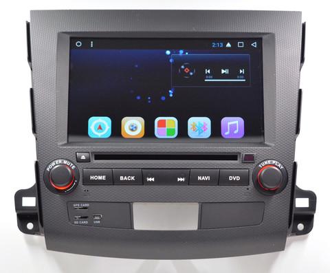 Магнитола Mitsubishi Outlander 2007 - 2012 Android 9.0 4/64 IPS DSP модель GF8710A